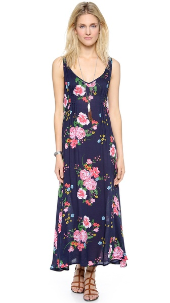 Free People Floral Maxi