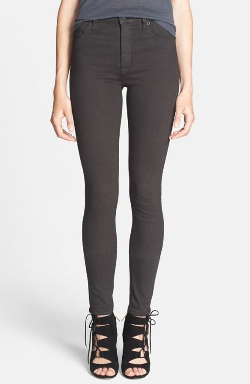Hudson High Rise Skinny Jeans