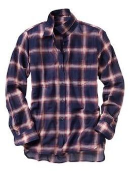 Silky Plaid Shirt