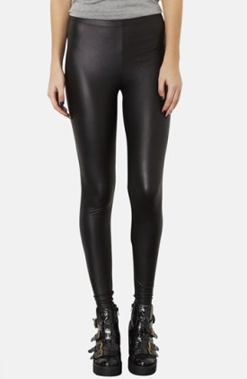 Top Shop Faux Leather Legging