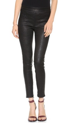 J Brand Cropped Leather Legging