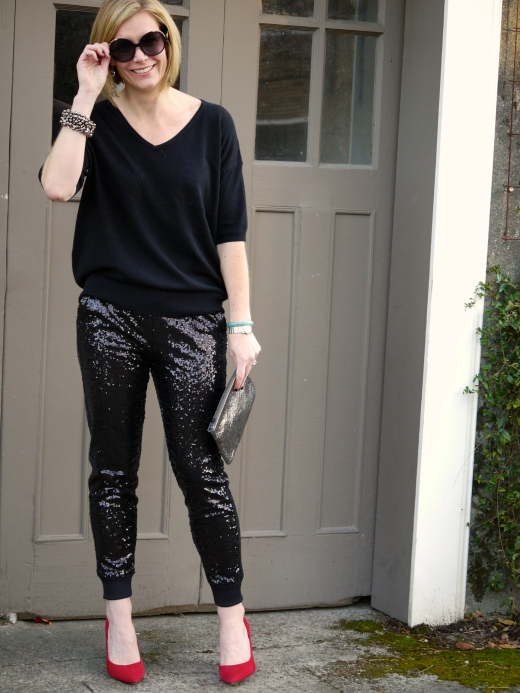 Nordstrom Trouvé Sequin Pants