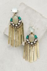 Anthropologie Fringe Earrings
